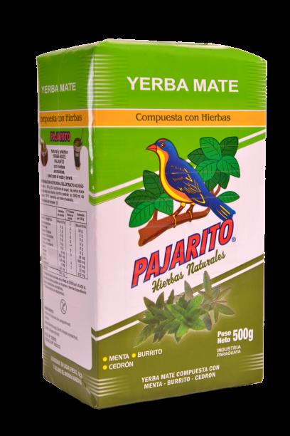Yerba Mate Compuesta con Hierbas Aromáticas x 500g