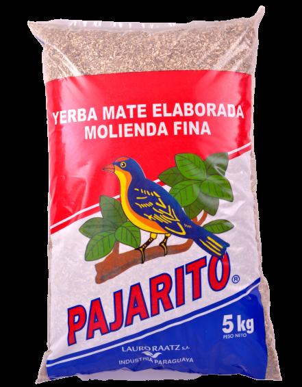 Yerba Mate Pajarito Tradicional molienda fina x 5Kg