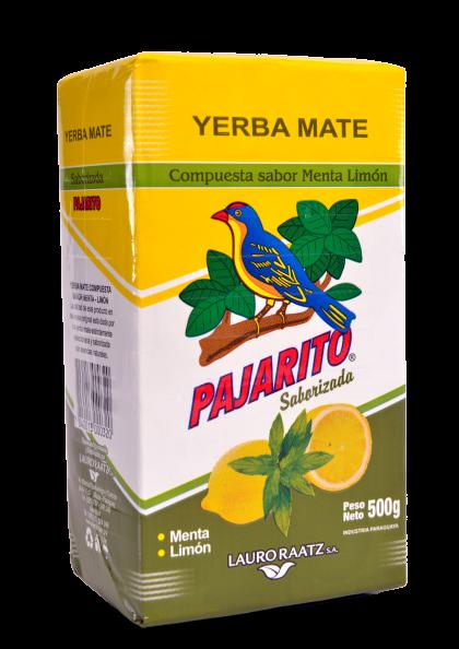 Yerba Mate Pajarito sabor Menta y Limón x 500g