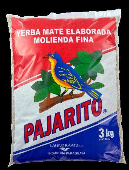 Yerba Mate Pajarito Tradicional molienda fina x 3Kg