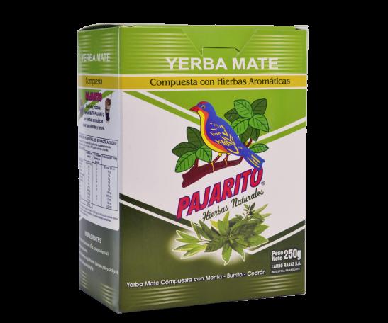 Yerba Mate Compuesta con Hierbas Aromáticas x 250g